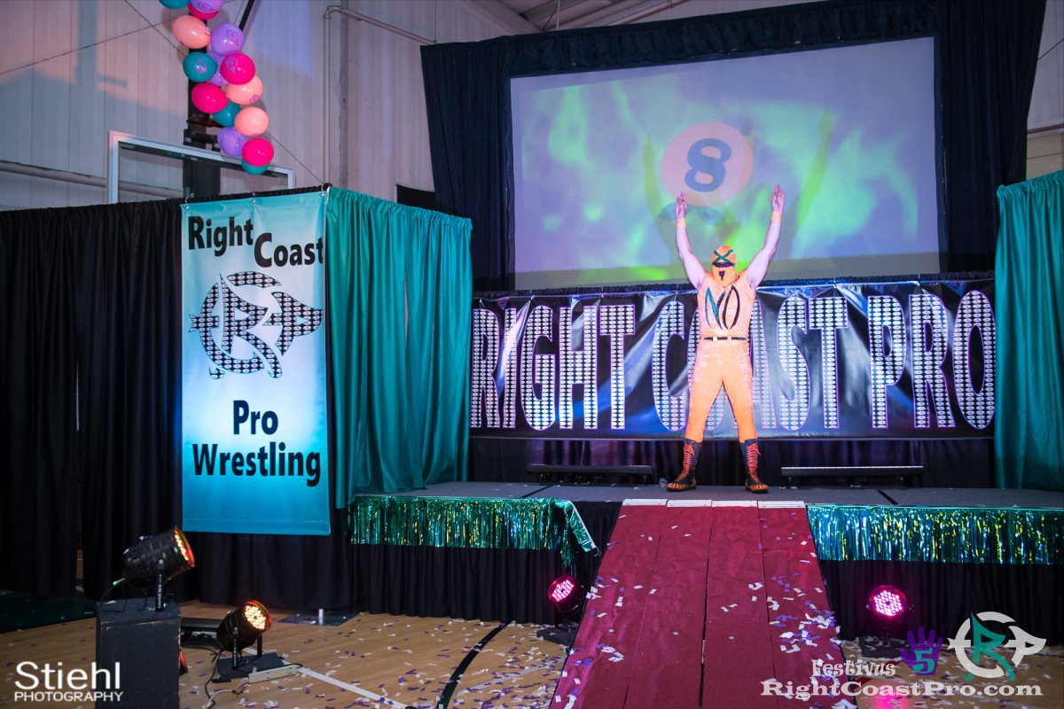 Norange F Festivus Five RightCoast ProWrestling Delaware Event