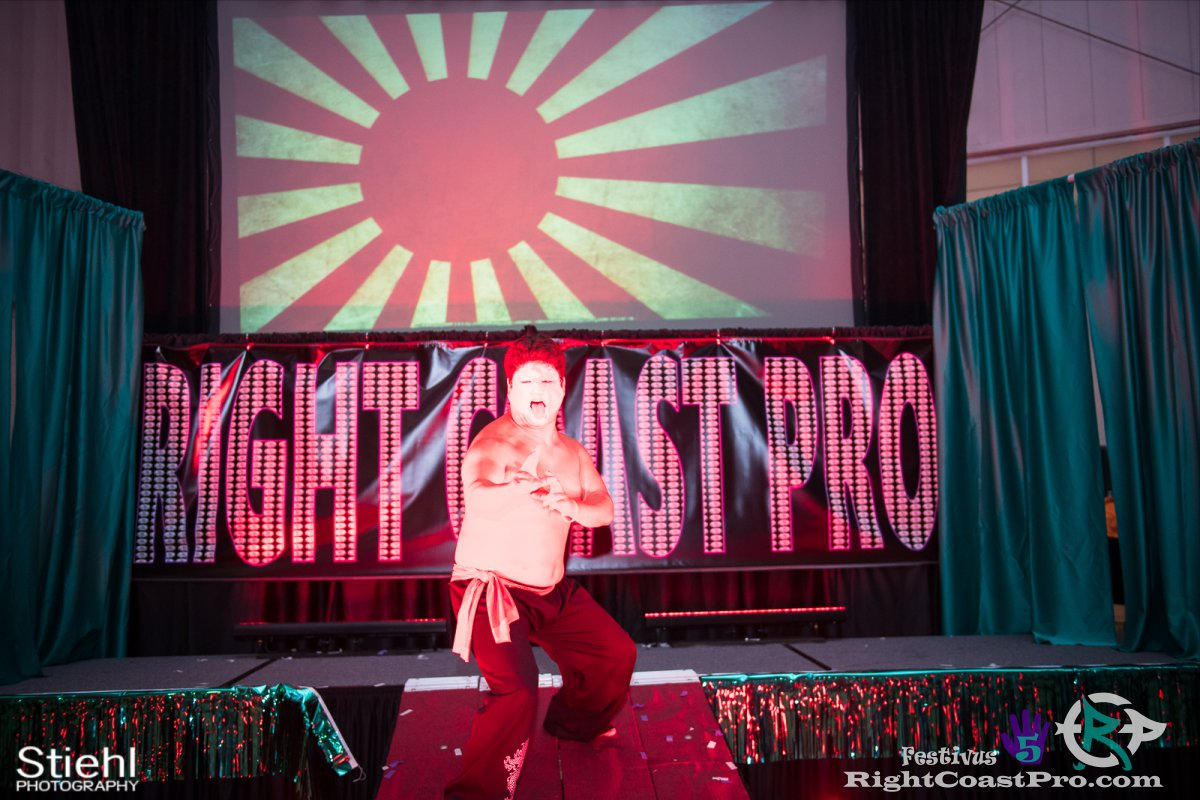 SetsuGinsu B Festivus Five RightCoast ProWrestling Delaware Event