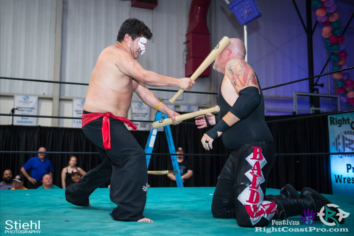 SetsuGinsu C Festivus Five RightCoast ProWrestling Delaware Event