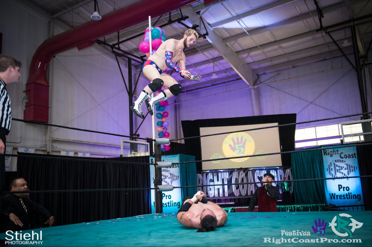 ColtonQuest E Festivus Five RightCoast ProWrestling Delaware Event