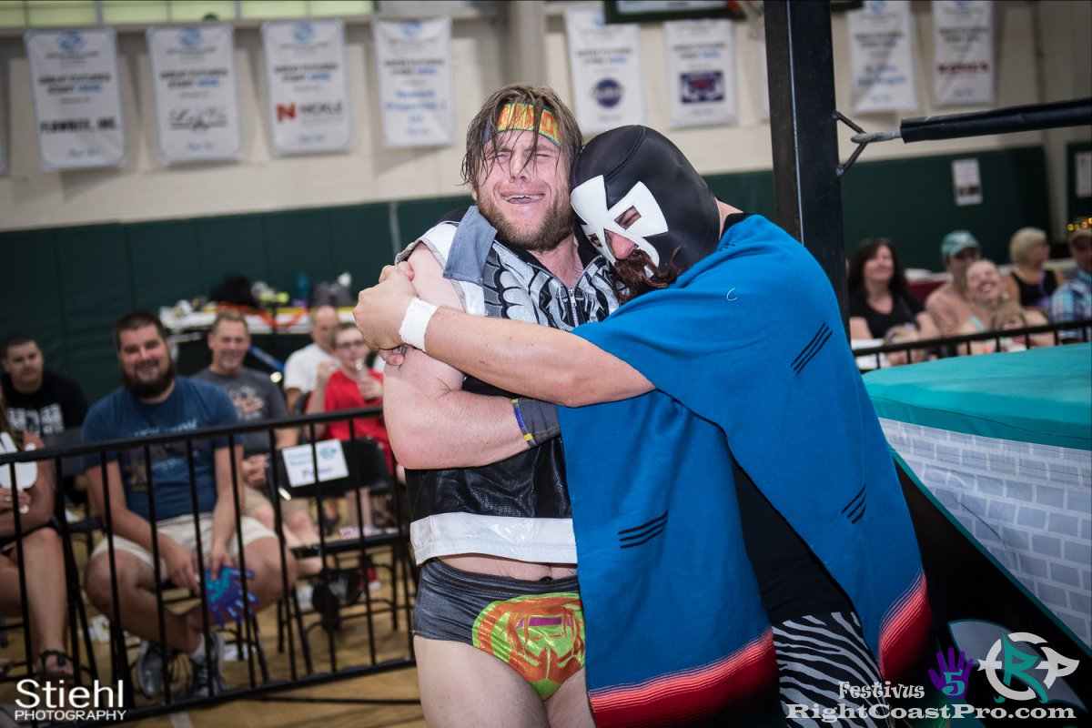 BFAmigos D Festivus Five RightCoast ProWrestling Delaware Event