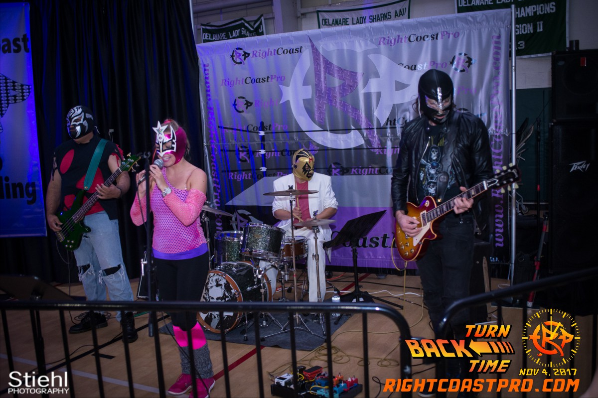 LuchaRock C TurnBackTime RightCoastProWrestling