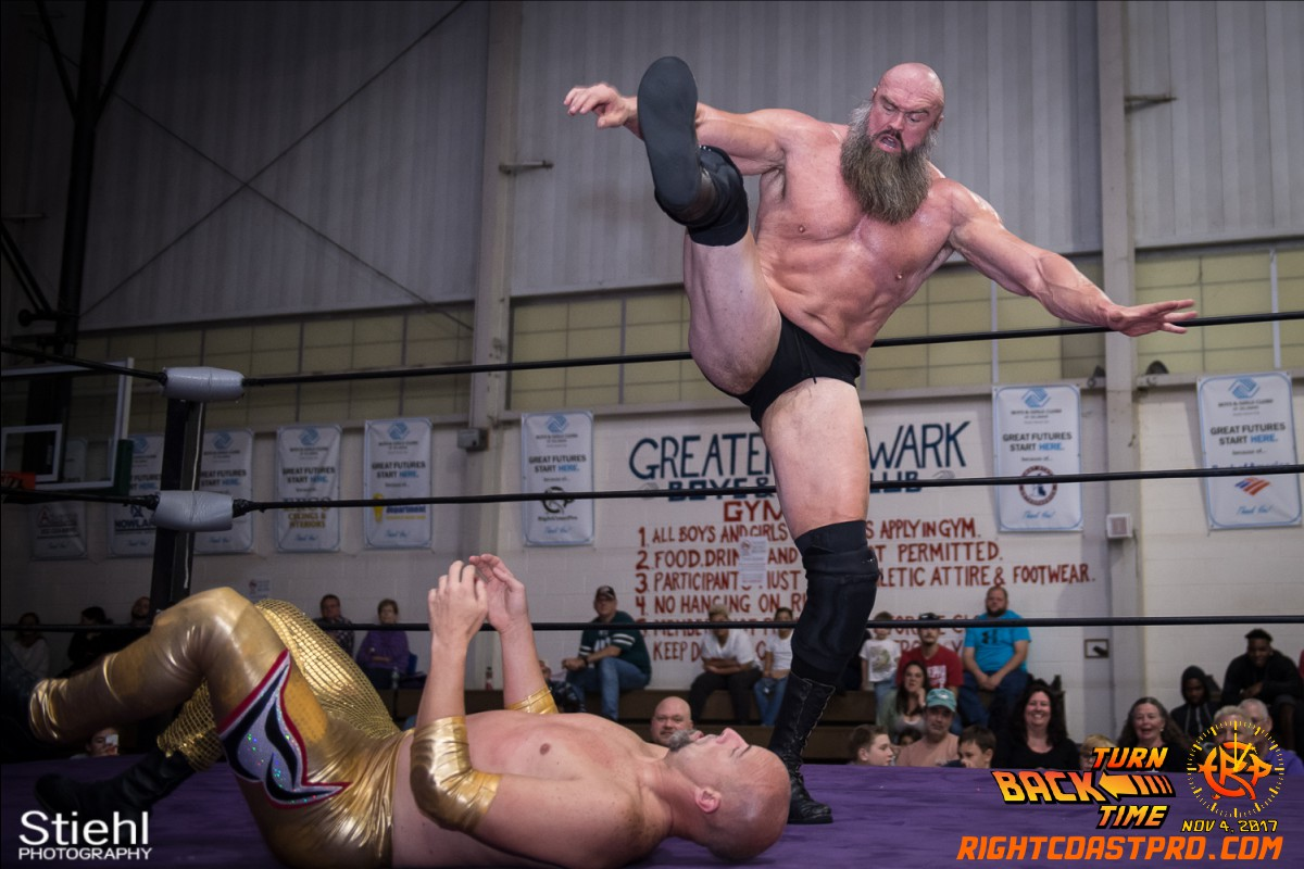 Snitsky D Champion TurnBackTime RightCoastProWrestling