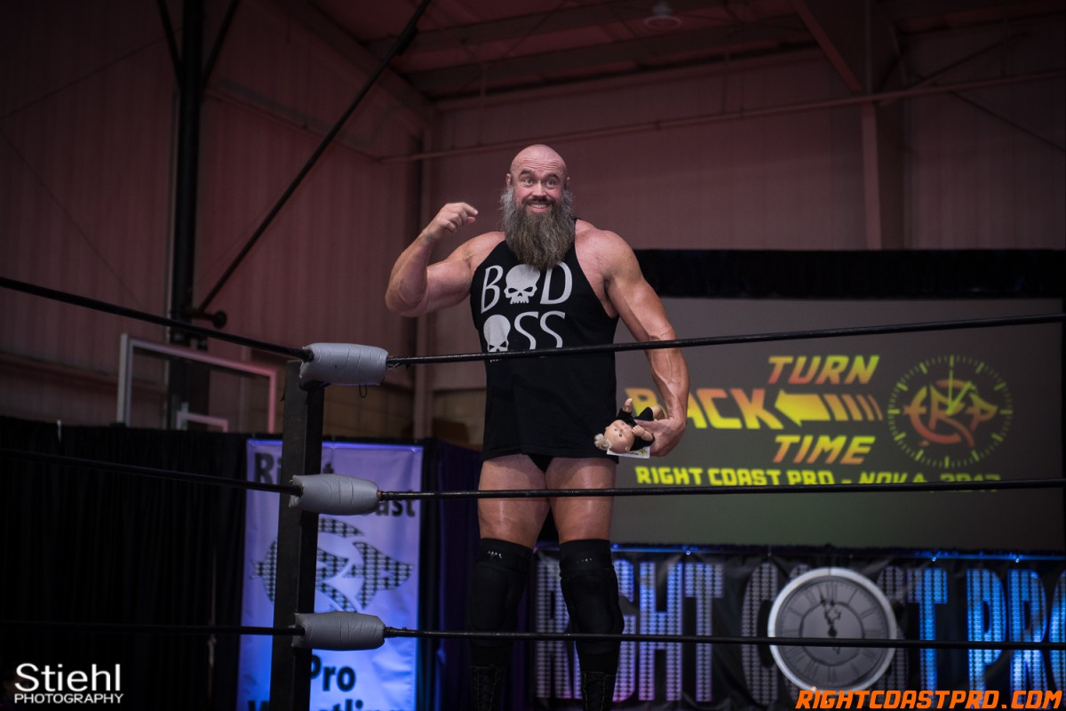 Snitsky F Champion TurnBackTime RightCoastProWrestling