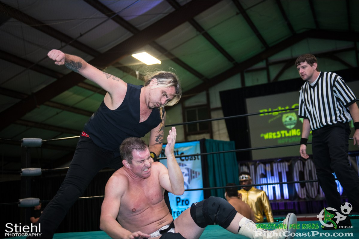 Boris Graygory A RCP40 KirkwoodSoccer RightCoastProWrestling Delaware