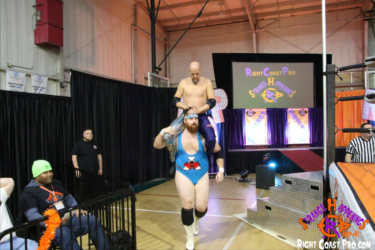 Aesthetics 4 StrangeHappenings RCP 41 RightCoast Pro Wrestling Delaware