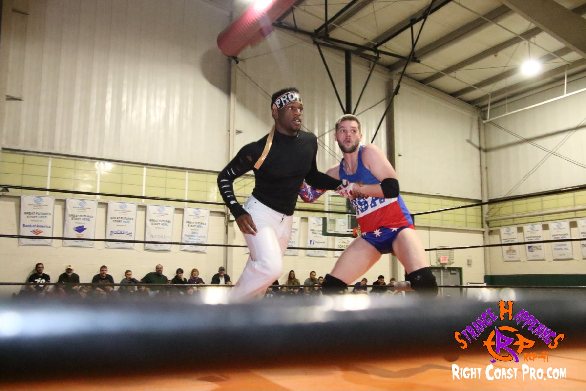 Quest A StrangeHappenings RCP 41 RightCoast Pro Wrestling Delaware