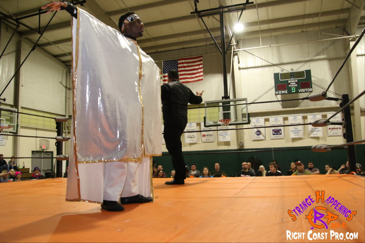 Quest Profit 2 StrangeHappenings RCP 41 RightCoast Pro Wrestling Delaware