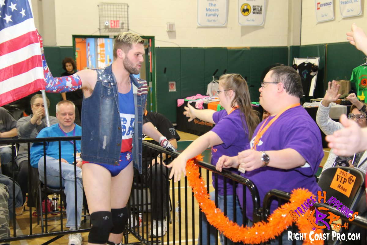 Quest Profit 6 StrangeHappenings RCP 41 RightCoast Pro Wrestling Delaware