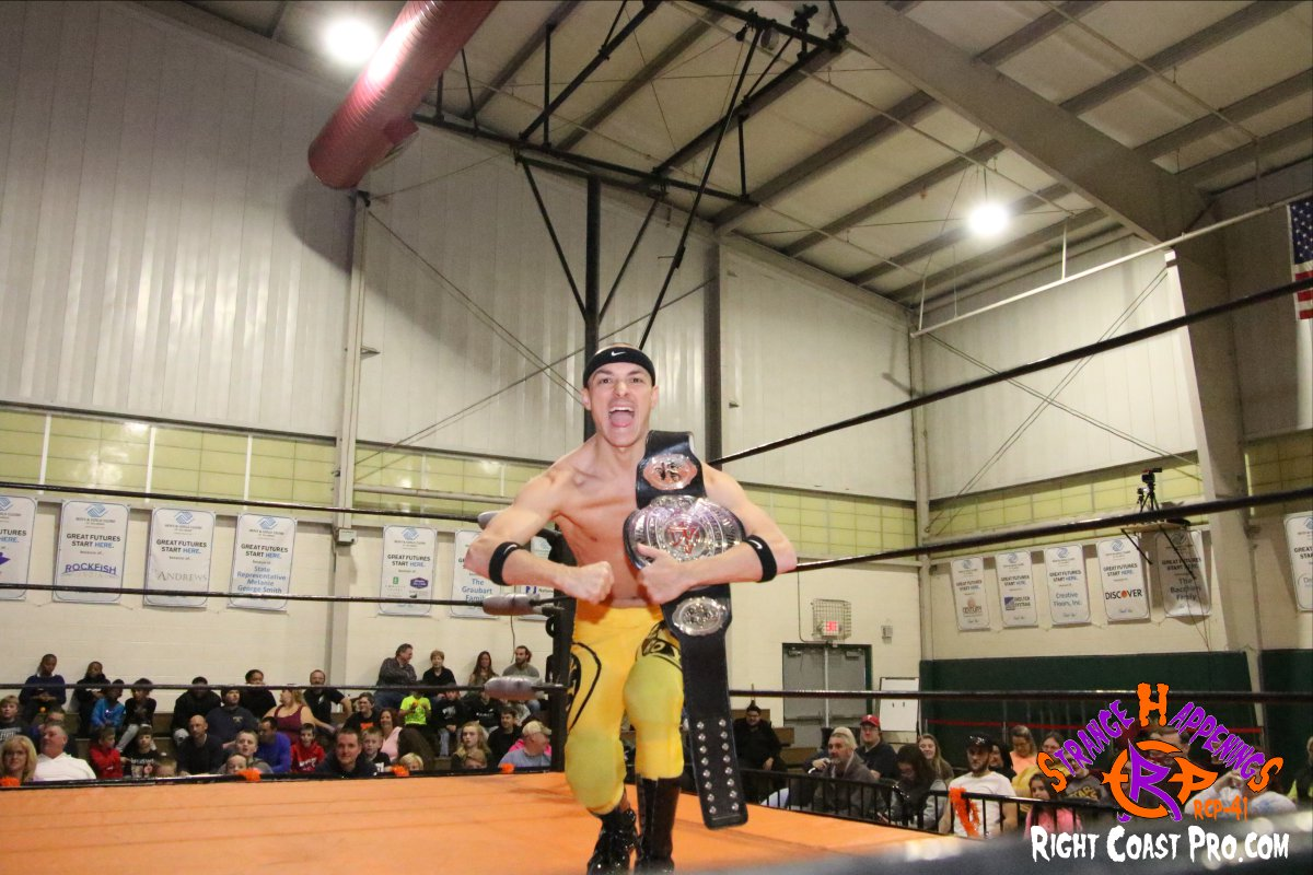 Royal Myles 1 StrangeHappenings RCP 41 RightCoast Pro Wrestling Delaware