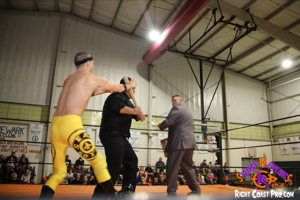 15 StrangeHappenings RCP 41 RightCoast Pro Wrestling Delaware