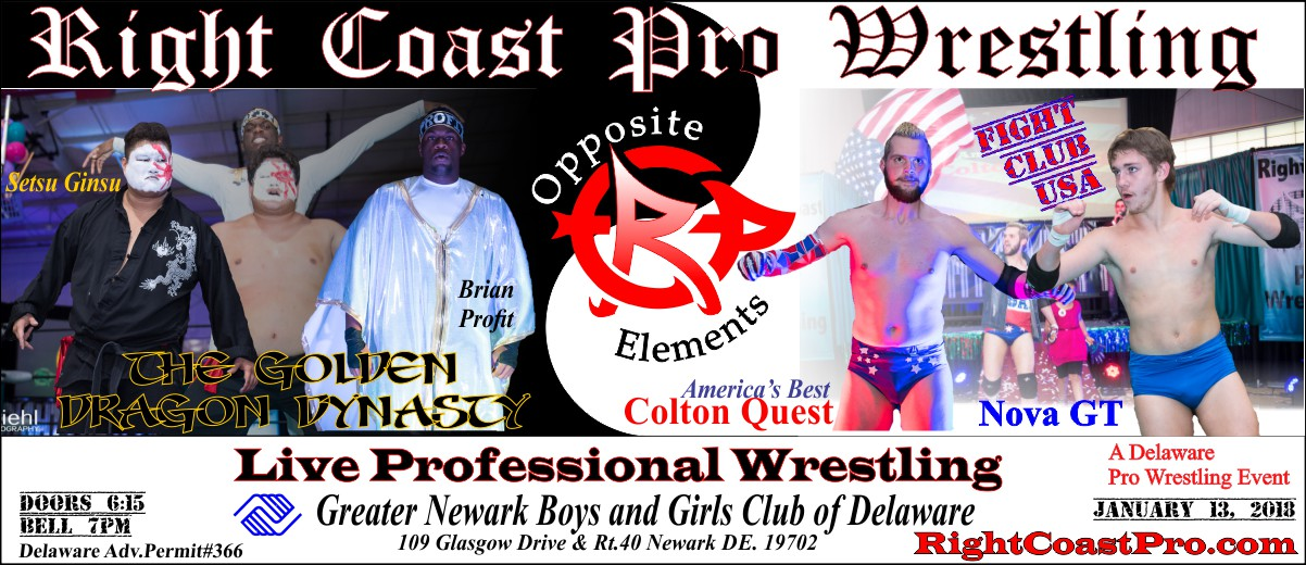 GoldenDragon2 1200 RightCoast Pro Wrestling Delaware