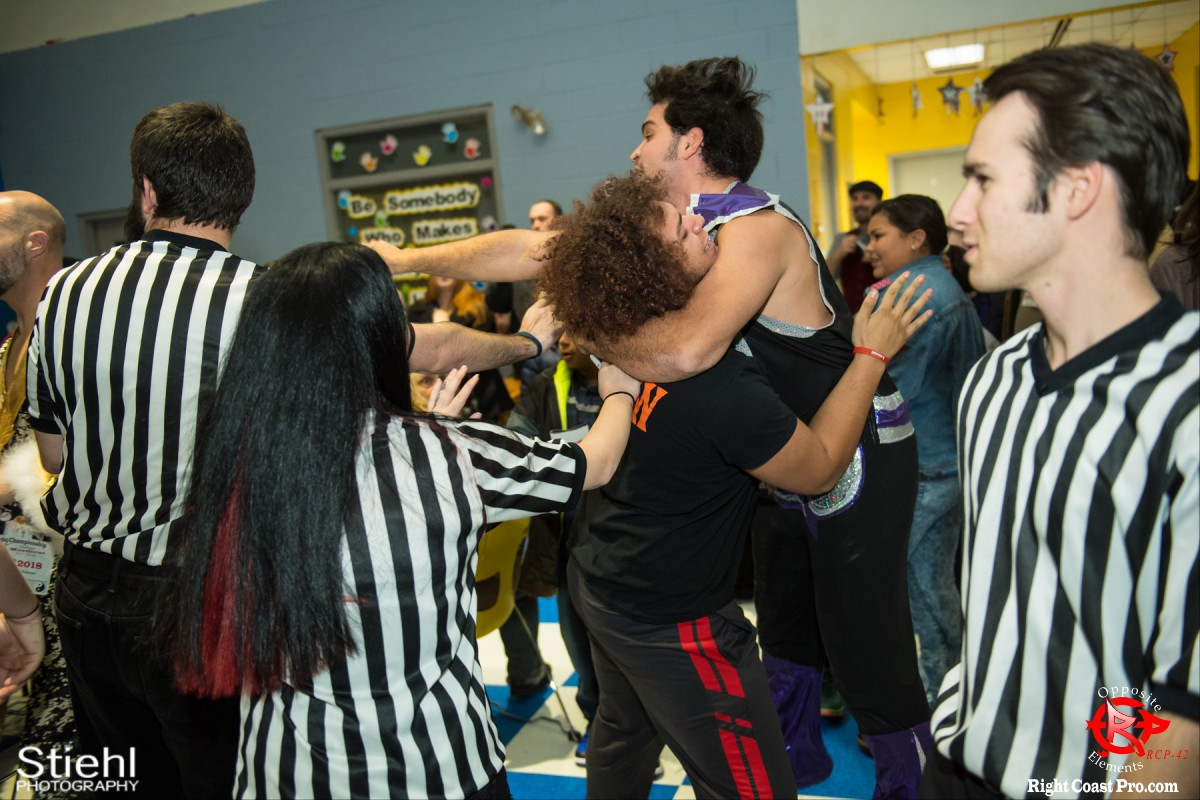 Disco Boris 16 OppositeElements RCP42 RightCoast Pro Wrestling Delaware