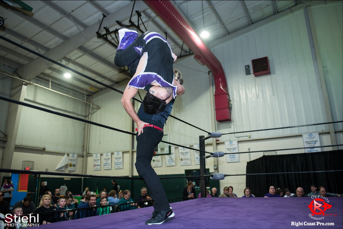 Disco Boris 2 OppositeElements RCP42 RightCoast Pro Wrestling Delaware