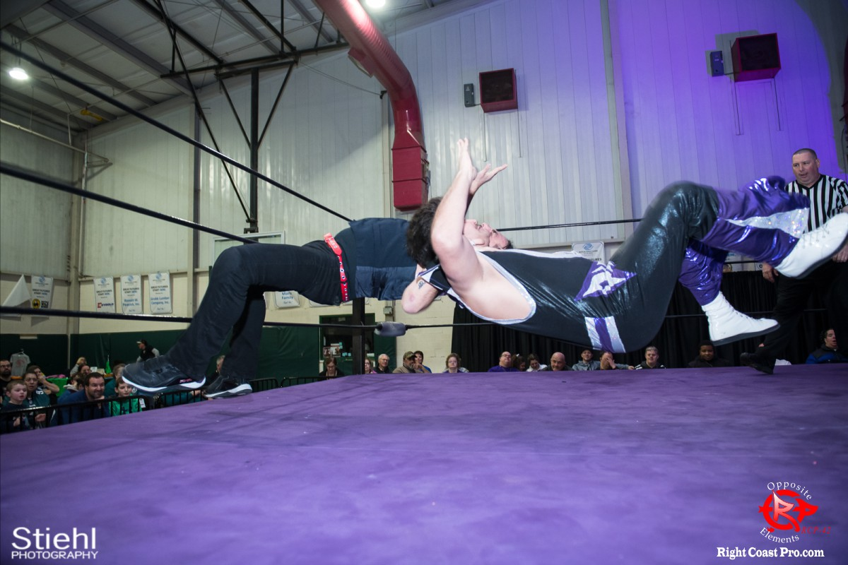 Disco Boris 3 OppositeElements RCP42 RightCoast Pro Wrestling Delaware
