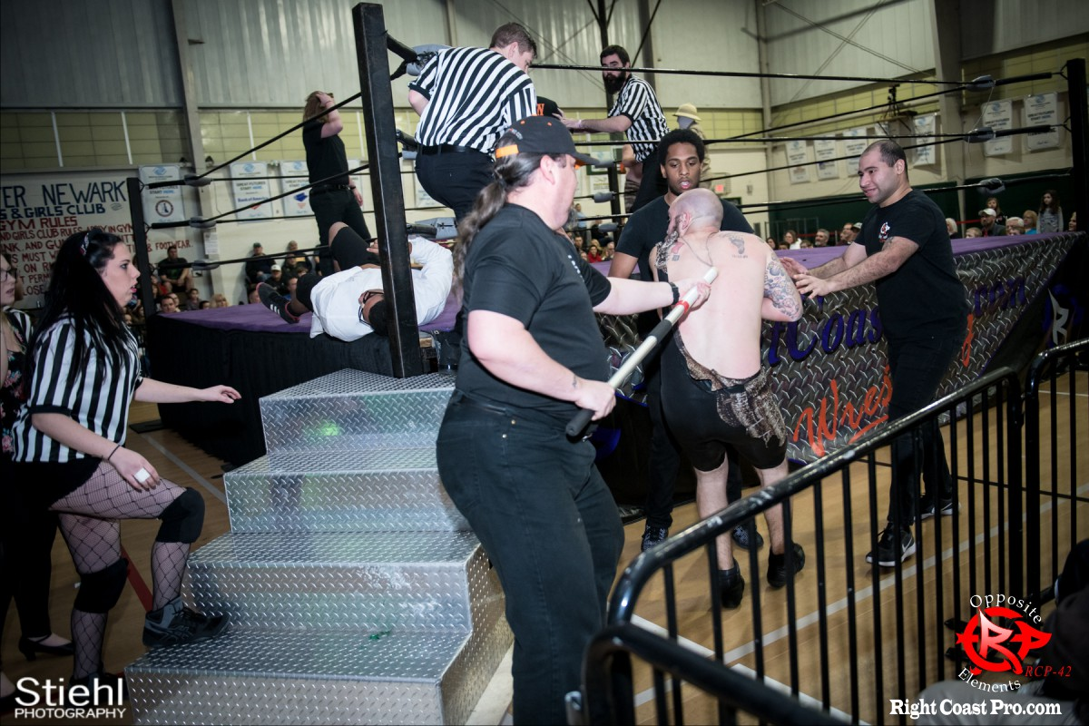 a OppositeElements RCP42 RightCoast Pro Wrestling Delaware