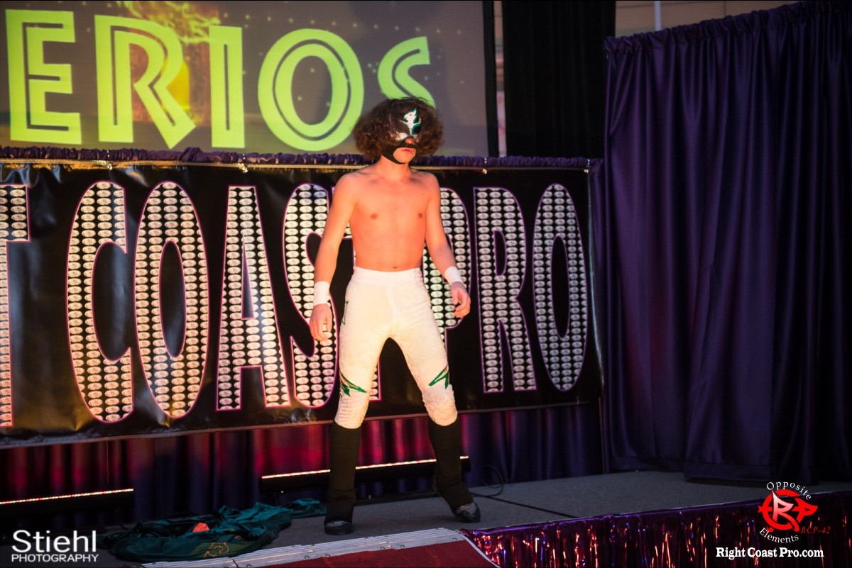 Sierios B OppositeElements RCP42 RightCoast Pro Wrestling Delaware