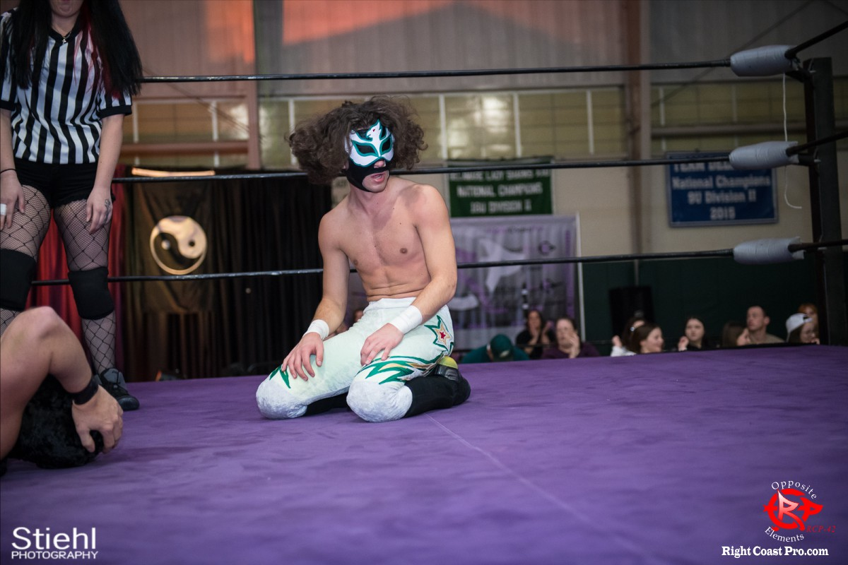 Sierios D OppositeElements RCP42 RightCoast Pro Wrestling Delaware