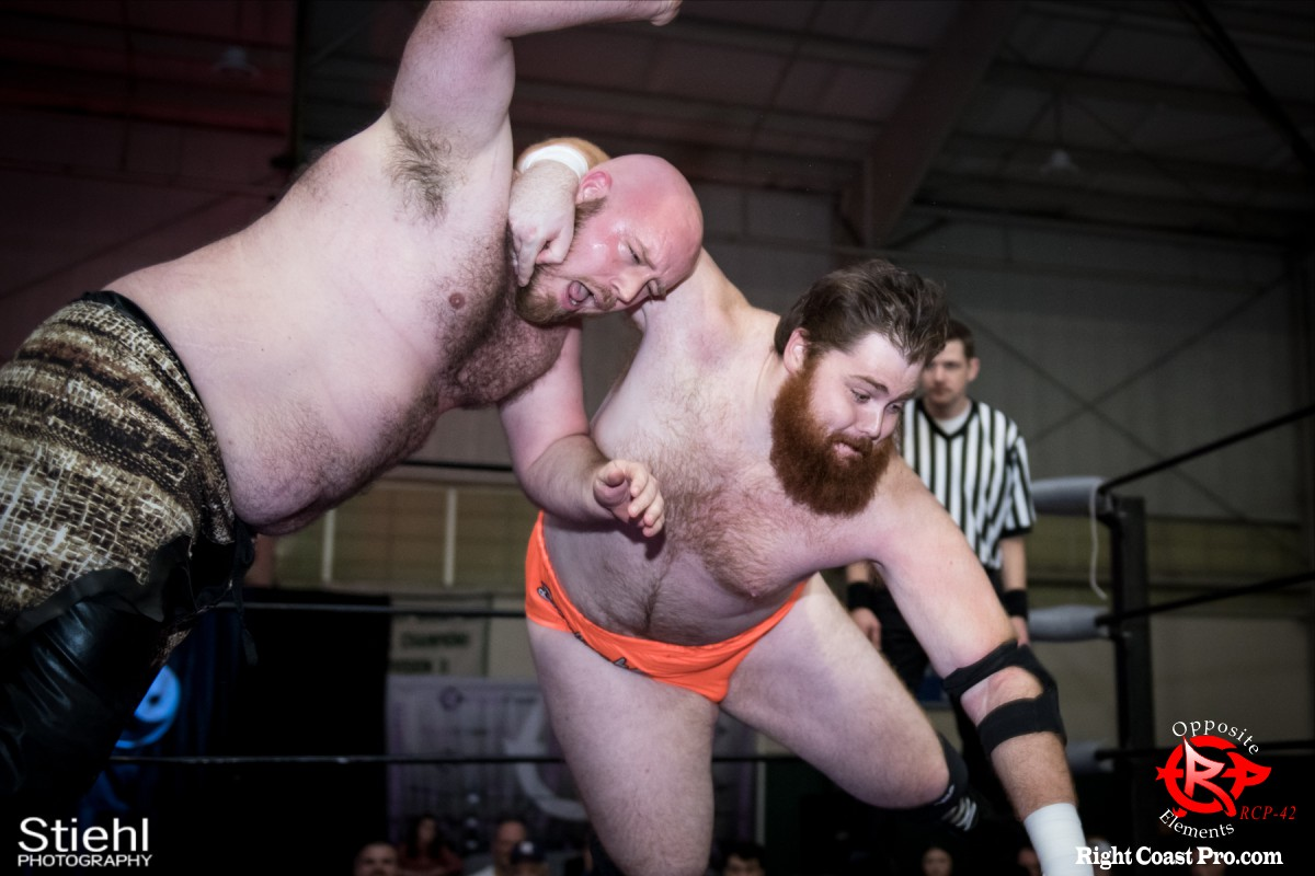 5 Beefcake Savage OppositeElements RCP42 RightCoast Pro Wrestling Delaware