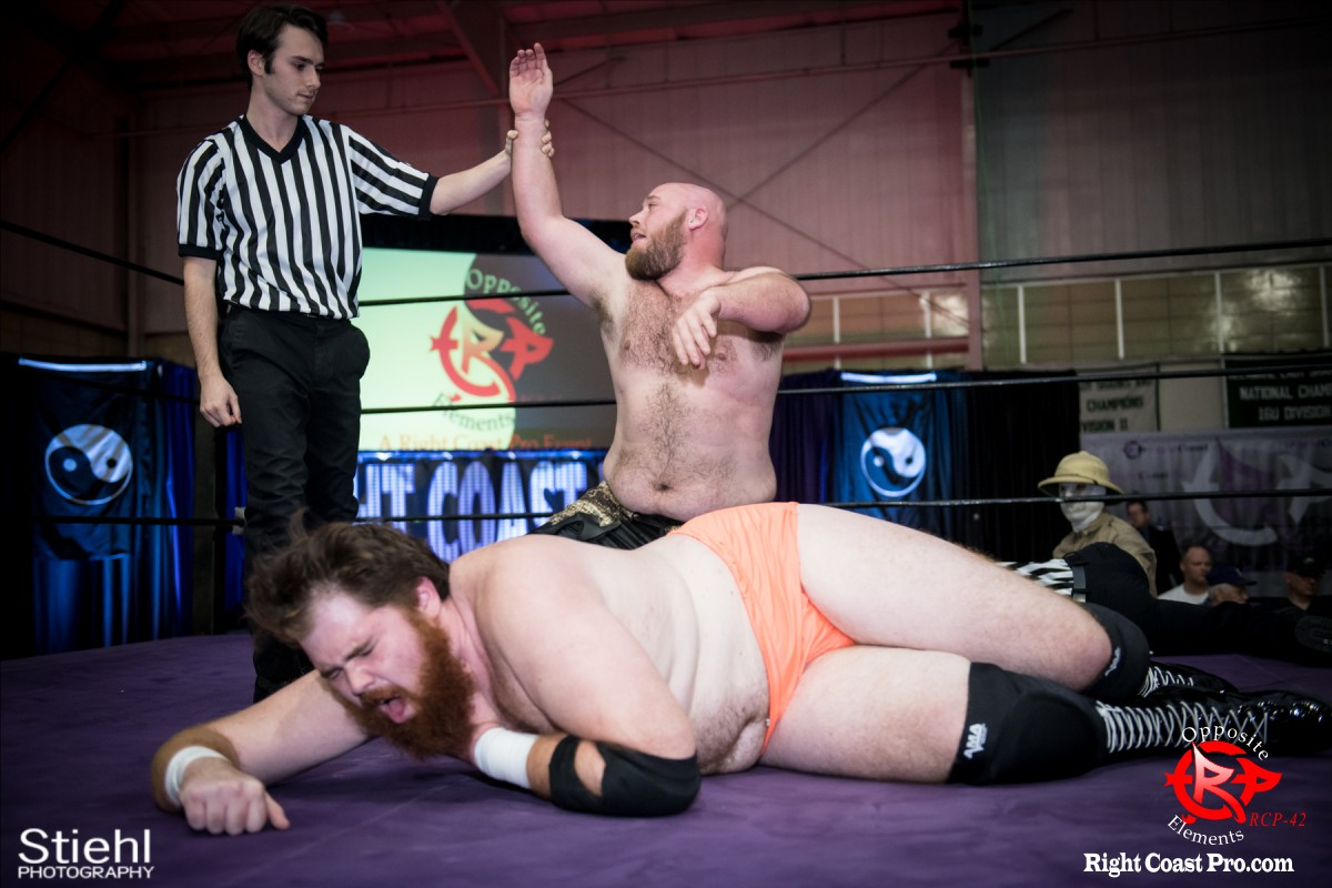 WWF B OppositeElements RCP42 RightCoast Pro Wrestling Delaware