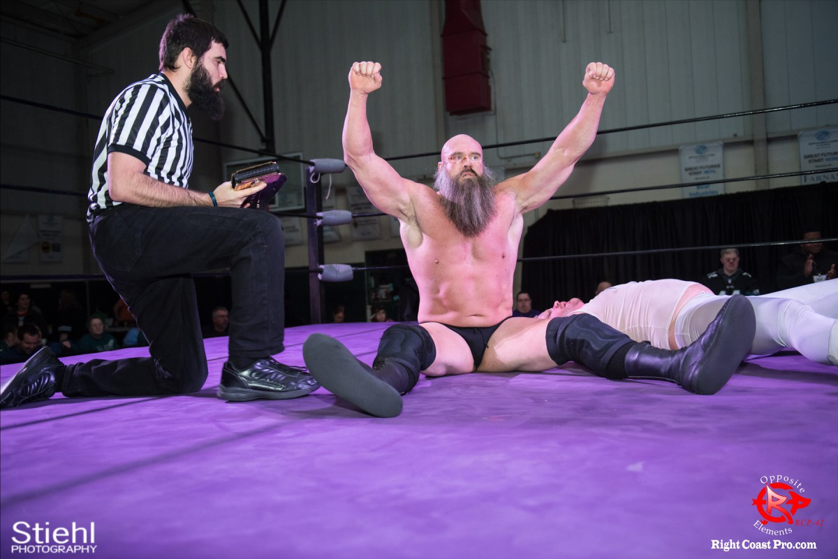 Snitsky I OppositeElements RCP42 RightCoast Pro Wrestling Delaware