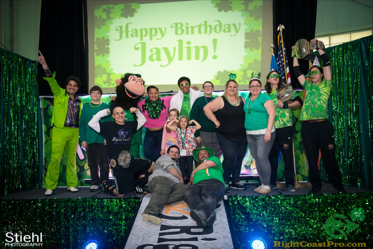 BirthdayParty 7 RightCoastPro Wrestling Delaware BlarneyBlast RCP43