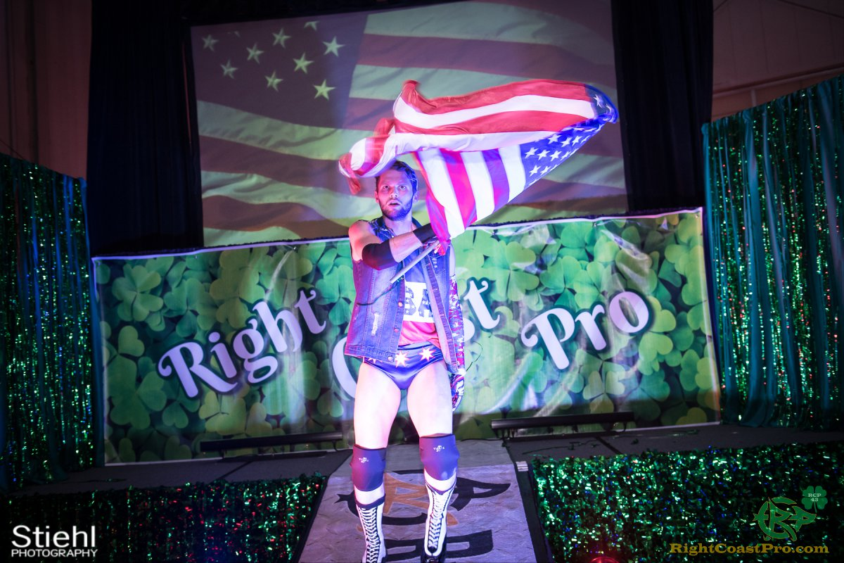 FourWay 4 RightCoastPro Wrestling Delaware BlarneyBlast RCP43