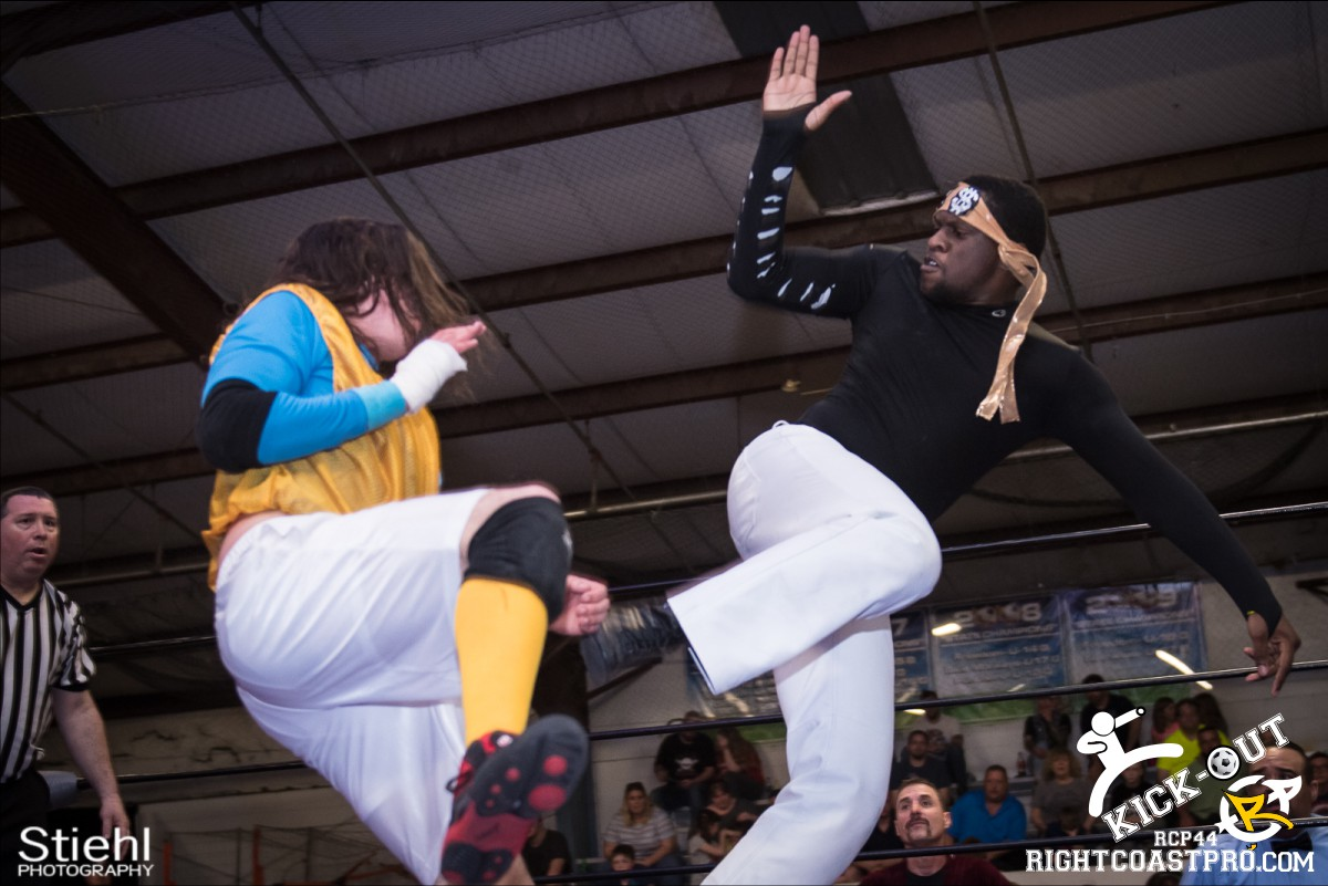 BrianProfit A Kickout RCP44 RightCoastPro Wrestling Delaware