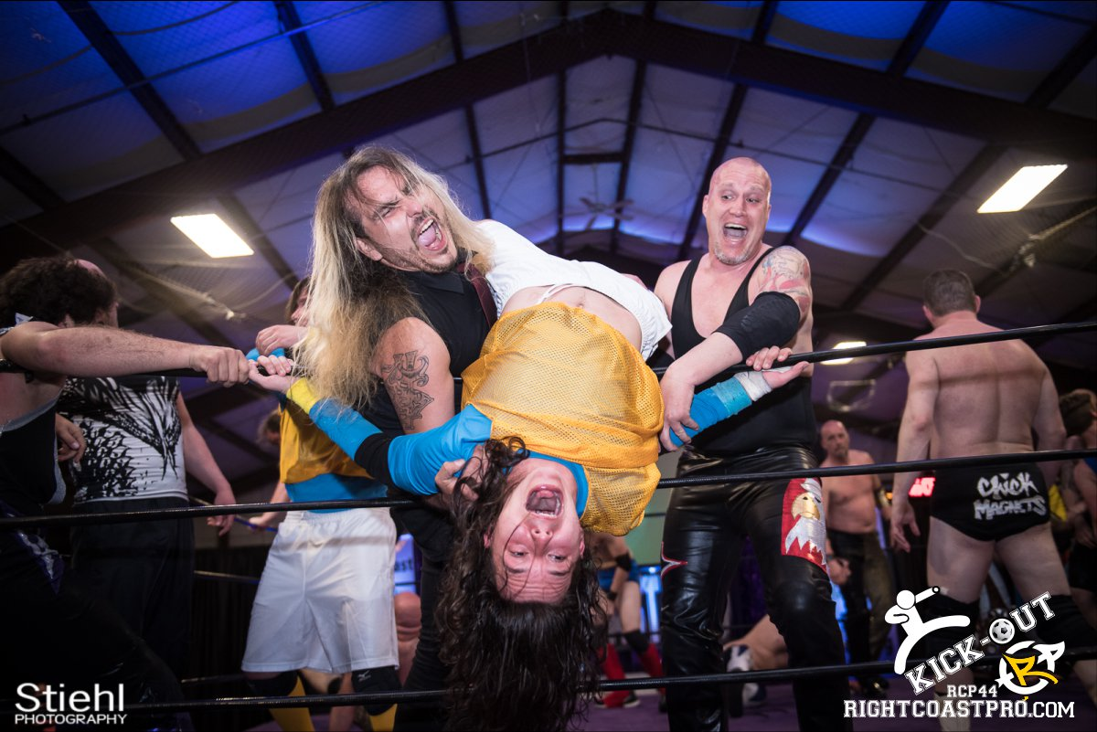 Rumble 41 Kickout RCP44 RightCoastPro Wrestling Delaware