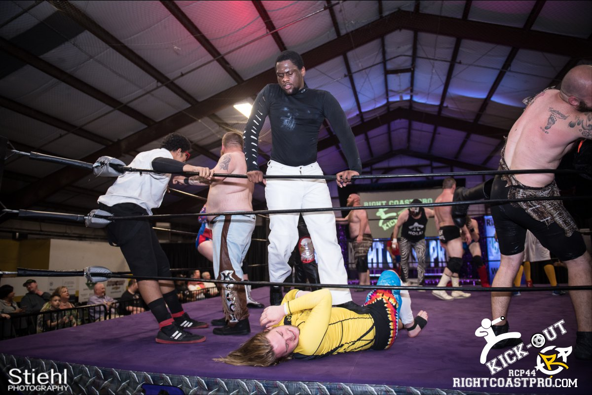 Rumble 46 Kickout RCP44 RightCoastPro Wrestling Delaware