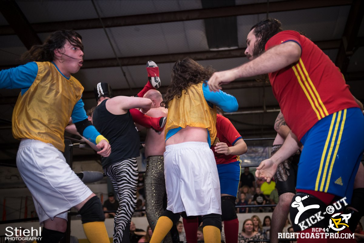 Rumble 54 Kickout RCP44 RightCoastPro Wrestling Delaware