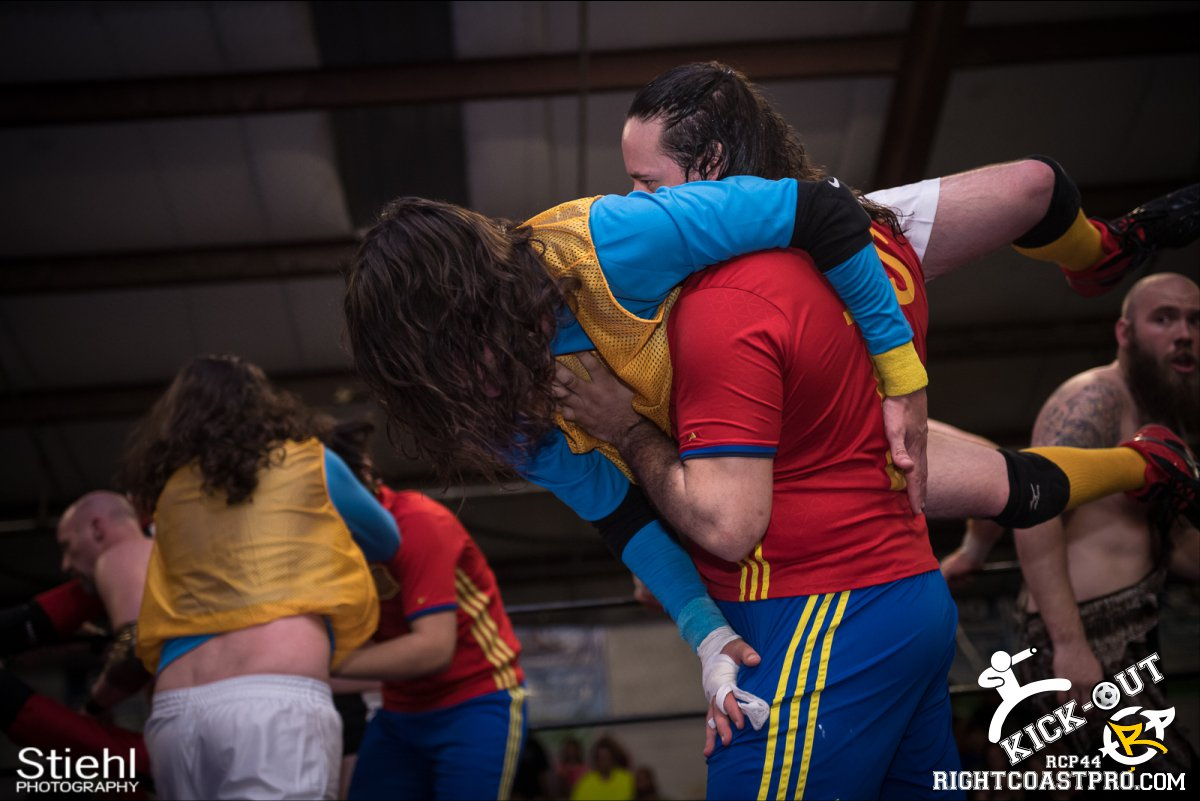 Rumble 55 Kickout RCP44 RightCoastPro Wrestling Delaware