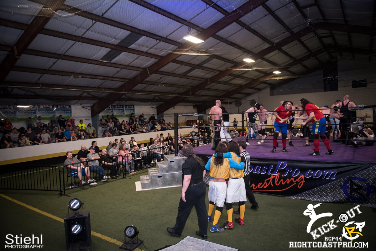 Rumble 56 Kickout RCP44 RightCoastPro Wrestling Delaware