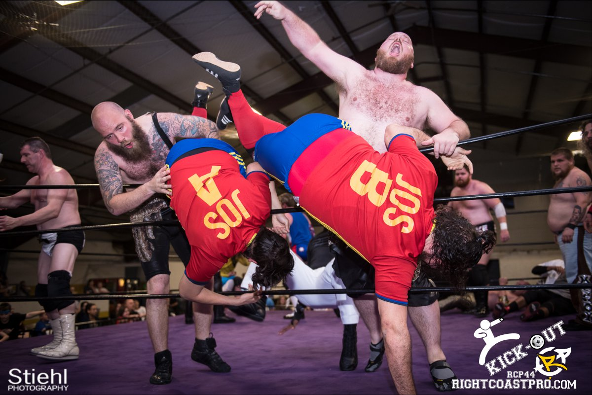 Rumble 57 Kickout RCP44 RightCoastPro Wrestling Delaware