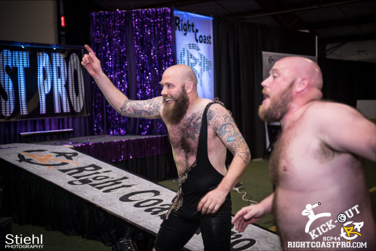 Rumble 58 Kickout RCP44 RightCoastPro Wrestling Delaware