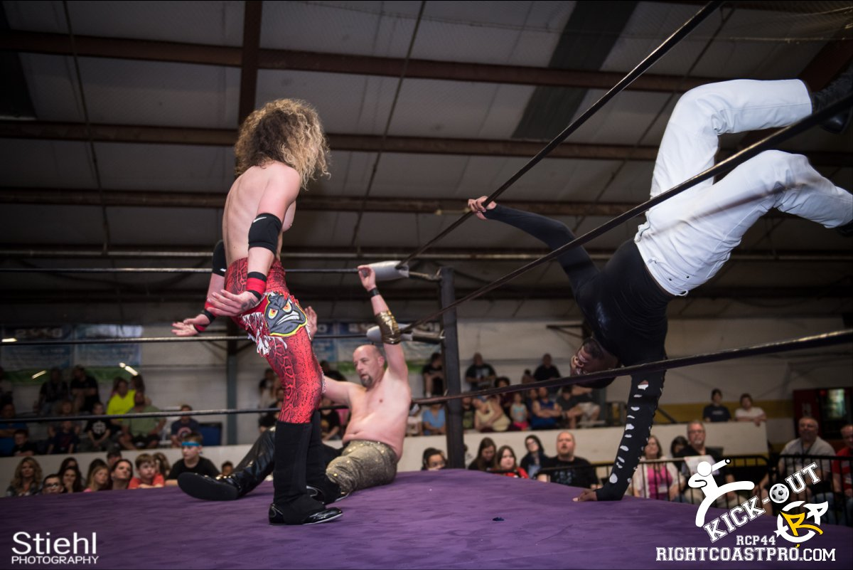 Rumble 60 Kickout RCP44 RightCoastPro Wrestling Delaware