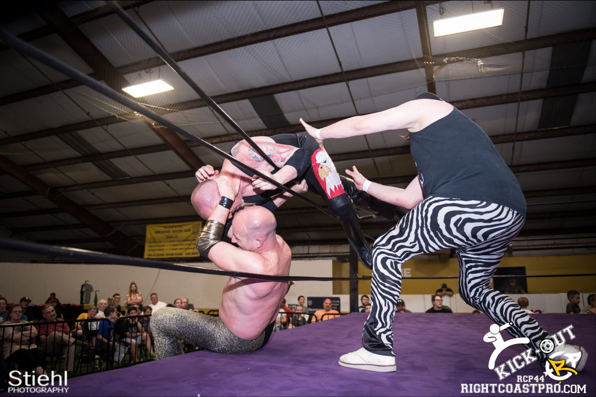 Rumble 64 Kickout RCP44 RightCoastPro Wrestling Delaware