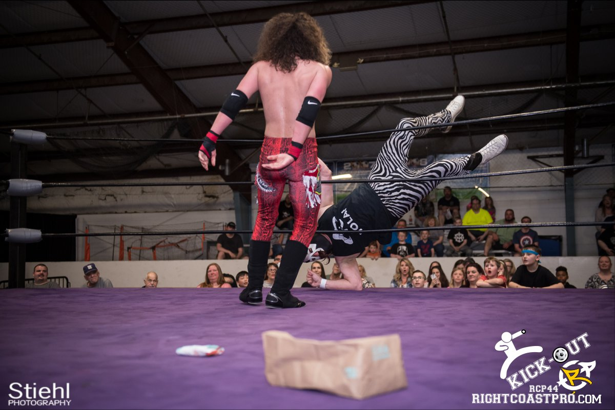 Rumble 67 Kickout RCP44 RightCoastPro Wrestling Delaware