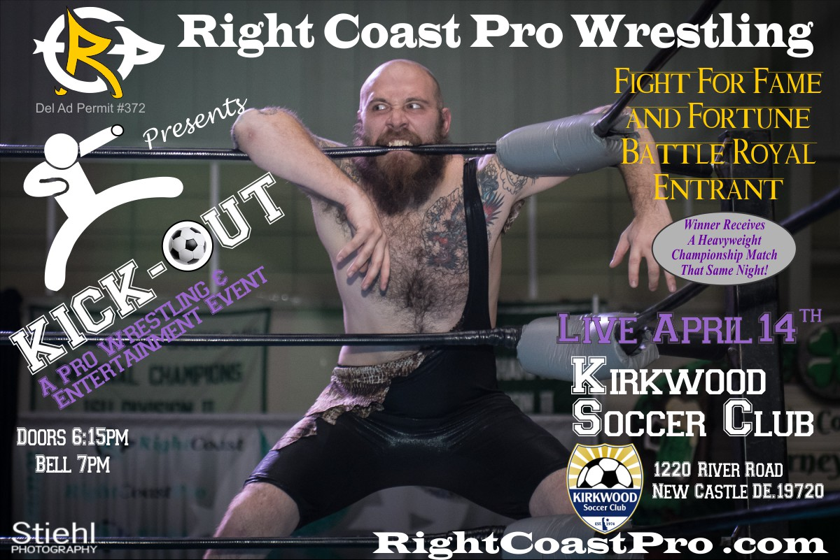 WCW FightForFame RCP44 RightCoastPro Wrestling Delaware