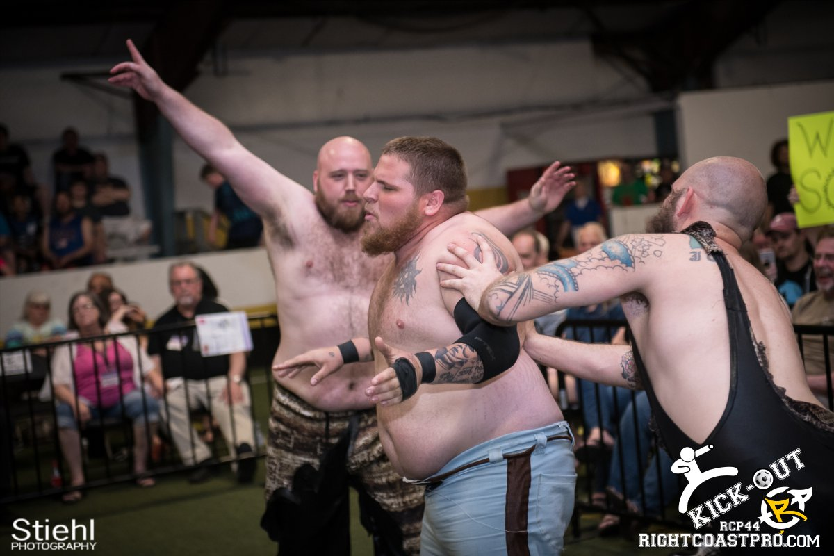 6man 14 Kickout RCP44 RightCoastPro Wrestling Delaware