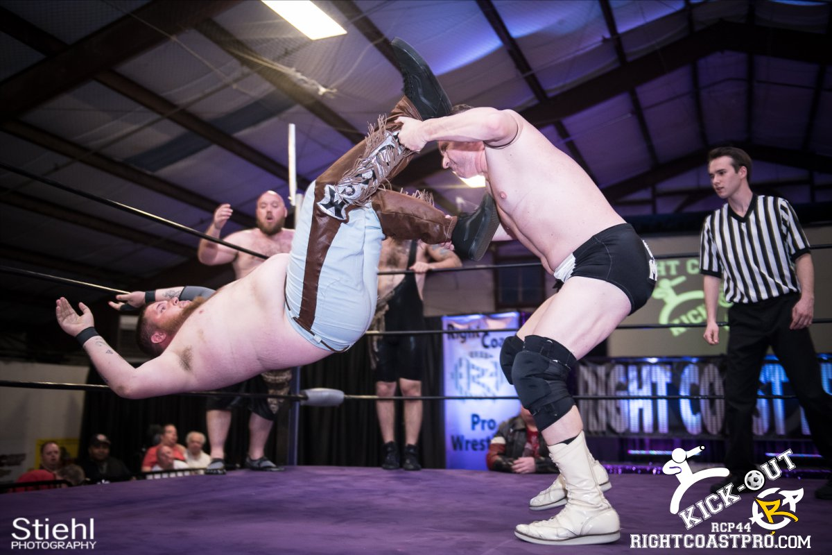 6man 16 Kickout RCP44 RightCoastPro Wrestling Delaware