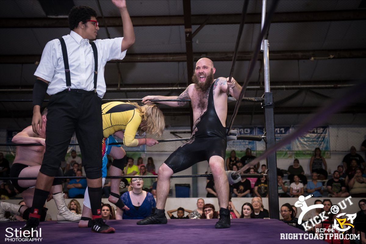6man 22 Kickout RCP44 RightCoastPro Wrestling Delaware
