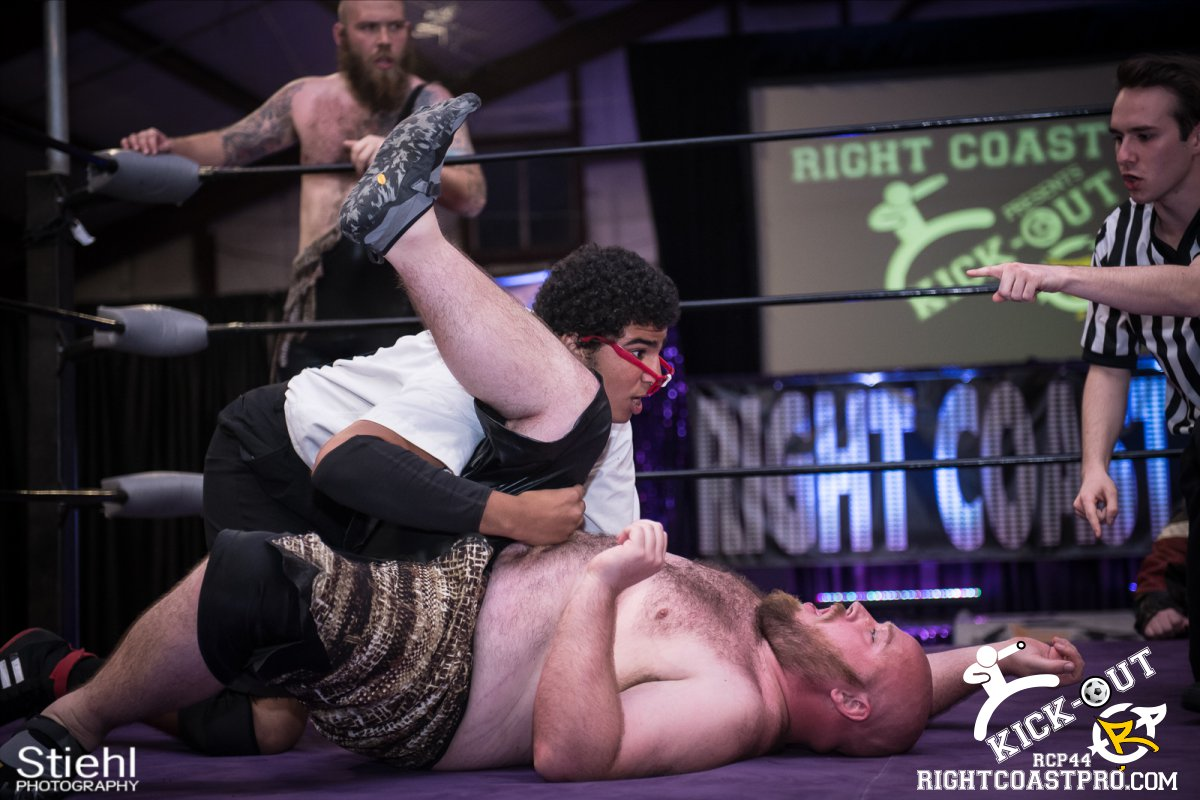 6man 27 Kickout RCP44 RightCoastPro Wrestling Delaware