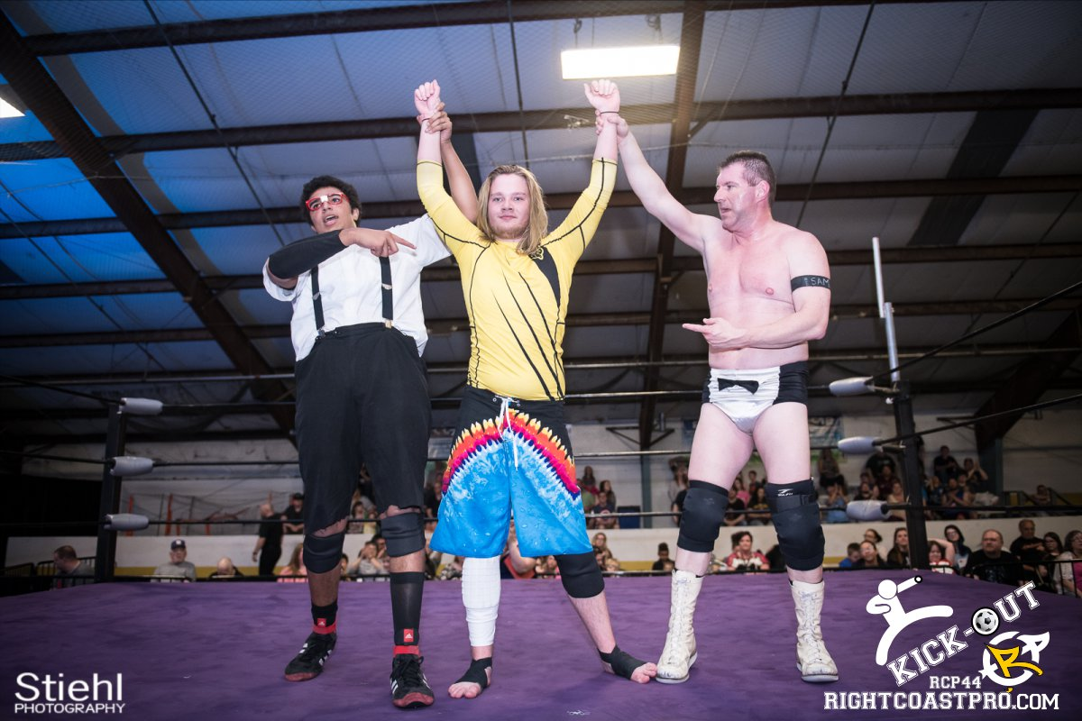 6man 38 Kickout RCP44 RightCoastPro Wrestling Delaware