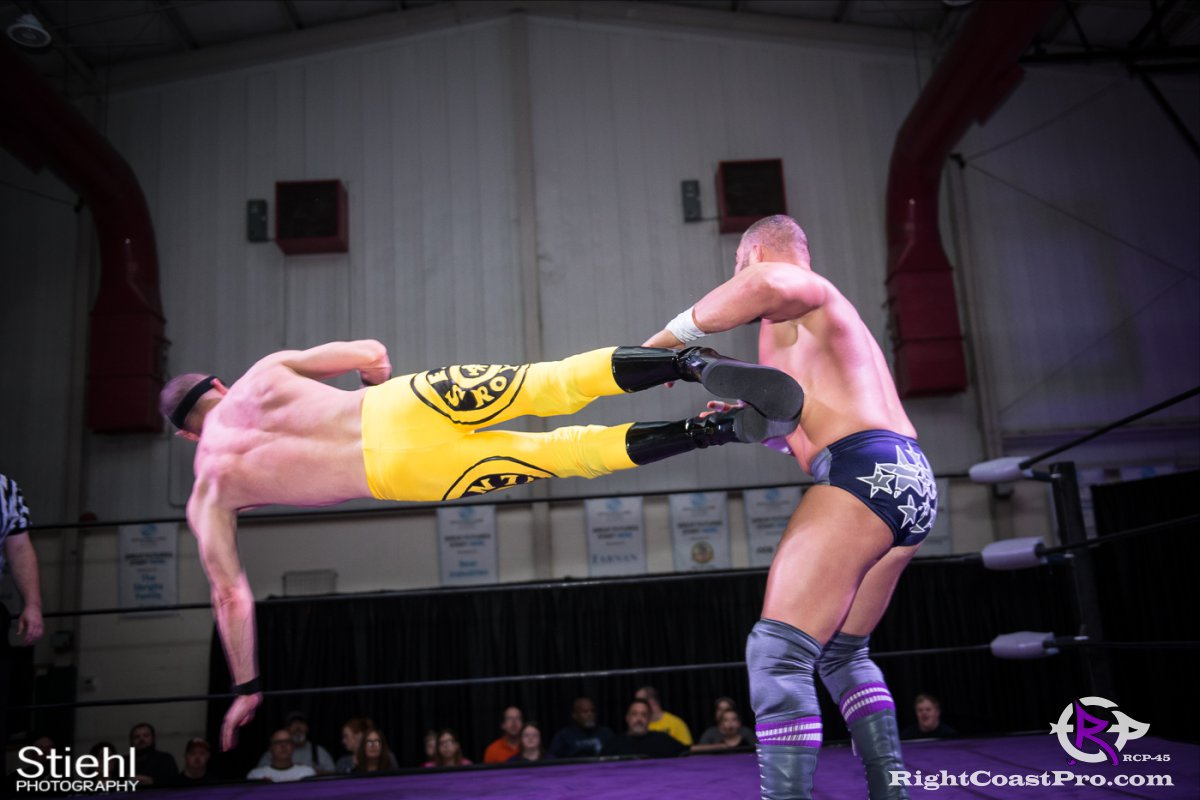 Olympus Championship 14 Impound RCP45 RightCoastPro Wrestling Delaware