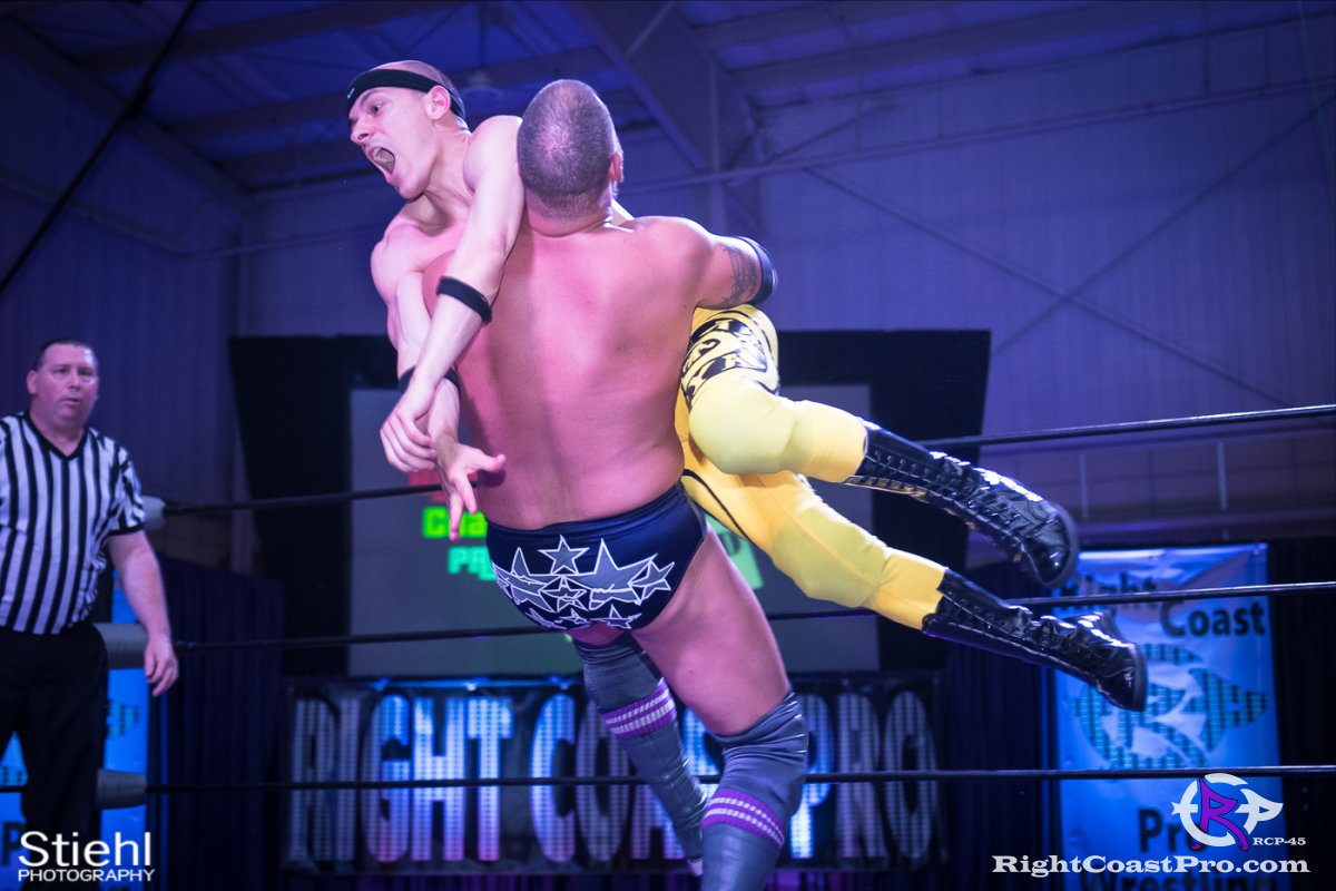 Olympus Championship 21 Impound RCP45 RightCoastPro Wrestling Delaware