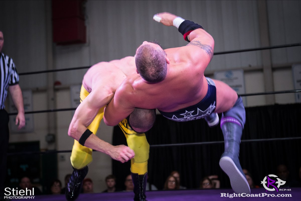 Olympus Championship 27 Impound RCP45 RightCoastPro Wrestling Delaware