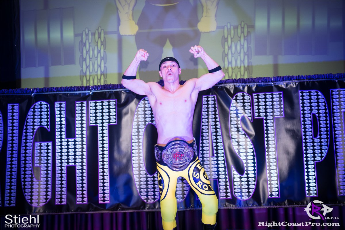Olympus Championship 3 Impound RCP45 RightCoastPro Wrestling Delaware