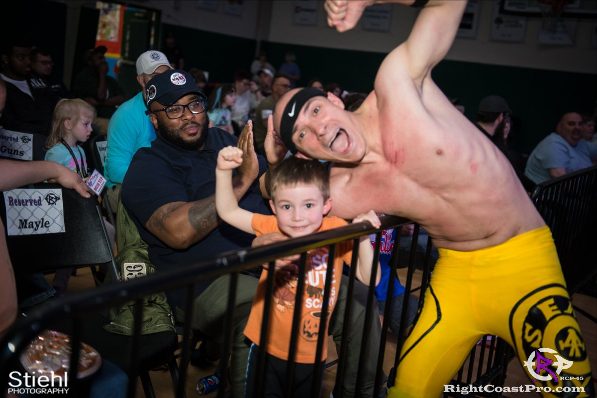 Olympus Championship 30 Impound RCP45 RightCoastPro Wrestling Delaware