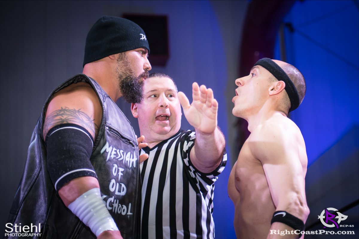 Olympus Championship 4 Impound RCP45 RightCoastPro Wrestling Delaware